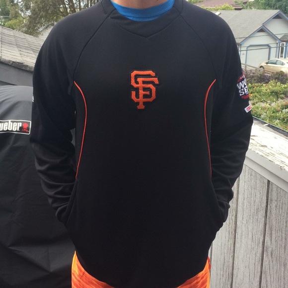 save off 90fc1 5ea49 Men's San Francisco Giants Crew Sweatshirt